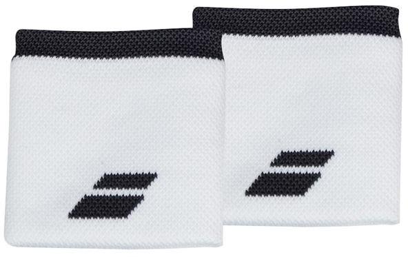 Znojnik za ruku Babolat Logo Wristband - white/rabbit