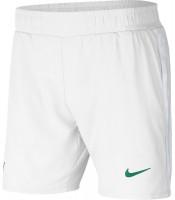 Męskie spodenki tenisowe Nike Court Rafa 7in Short - white/lucid green