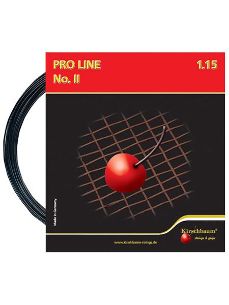 Tenisa stīgas Kirschbaum Pro Line No. II (12 m) - black