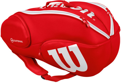 Wilson Vancouver Pro Staff 9 Pack - red/white