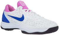 Męskie buty tenisowe Nike Air Zoom Cage 3 - white/game royal/china rose