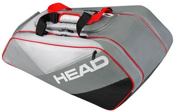 Head Elite All Court - black/red