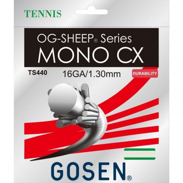 Naciąg tenisowy Gosen OG-SHEEP Mono CX - white