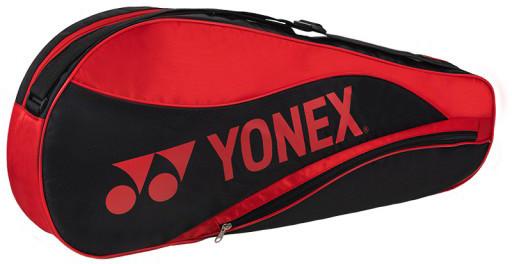 Yonex Racquet Bag 3 Pack - black/red