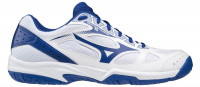 Buty do squasha Mizuno Cyclone Speed 2 - white/reflex blue