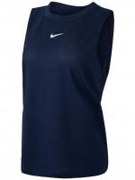 Ženska majica bez rukava Nike Court Dri-Fit Advantage Tank W - obsidian/obsidian/white