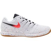 Męskie buty tenisowe Nike Air Zoom Vapor X Clay - white/laser crimson