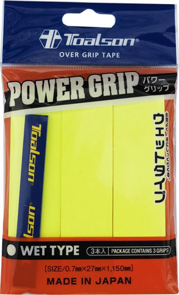Gripovi Toalson Power Grip 3P - yellow