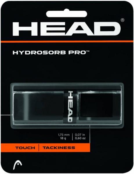 Owijki tenisowe bazowe Head Hydrosorb Pro black 1P