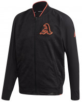 Męska bluza tenisowa Adidas VRCT Primeblue Jacket M - black/true orange