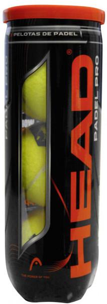 Padelio kamuoliukai Head Padel Pro - 3 szt.