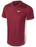 Teniso marškinėliai vyrams Nike Court Dri-Fit Victory - dark beetroot/white/white