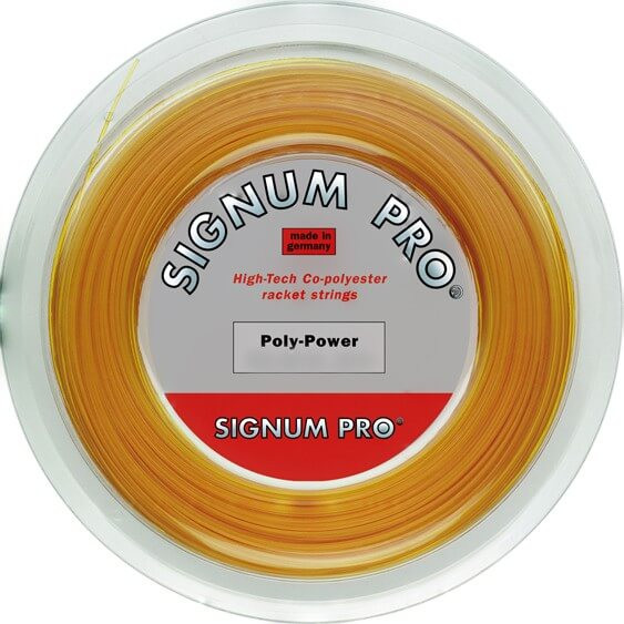Teniso stygos Signum Pro Poly Power (200 m)