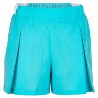 Damskie spodenki tenisowe Lacoste Roland Garros Color Block Tennis Skirt - haiti blue/white