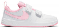 Juniorskie buty tenisowe Nike Pico 5 (PSV) JR - white/pink foam