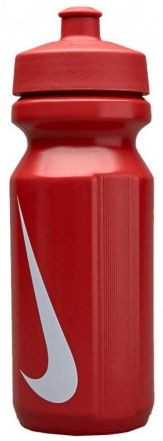 Ūdens pudele Bidon Nike Big Mouth Water Bottle 0,65L - sport red/white