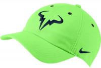 Teniso kepurė Nike Rafa U Aerobill H86 Cap - lime glow/obsidian
