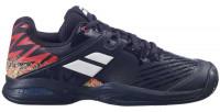 Juniorskie buty tenisowe Babolat Propulse Clay Junior - black/white