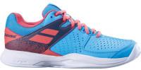 Damskie buty tenisowe Babolat Pulsion Clay Women - sky blue/pink