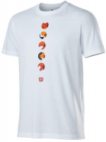 T-krekls vīriešiem Wilson Tokyo Tech Tee M - white