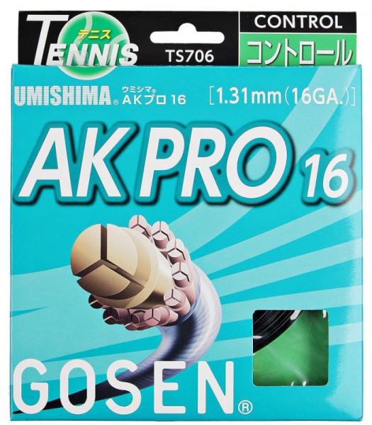 Tennisekeeled Gosen Umishima AK PRO (12.2 m) - black