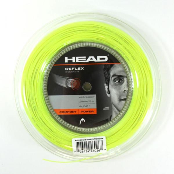 Žice za skvoš Head Reflex (110 m) - yellow