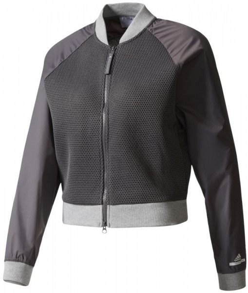 Naiste tennisedžemper Adidas by Stella McCartney Barricade Jacket - granite