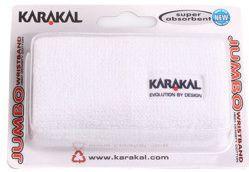 Aproces Karakal Logo Jumbo Wristbands - white