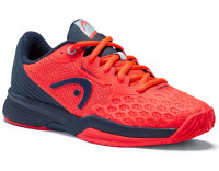 Teniso batai jaunimui Head Revolt Pro 3.5 Junior - neon red/dress blue
