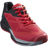 Męskie buty tenisowe Wilson Rush Pro 3.5 Clay - infarared/black/pearl blue