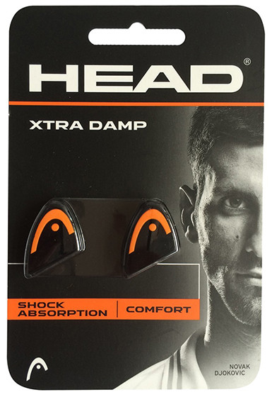 Vibracijų slopintuvai Head Xtra Damp - black/orange
