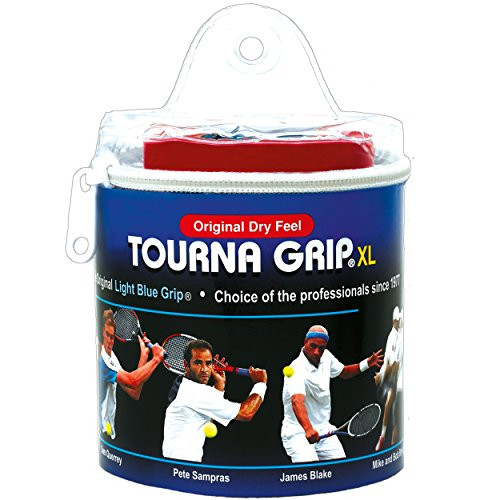 Owijki tenisowe Tourna Grip XL Dry Feel Tour Pack (30 szt.) - blue
