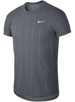 Męski T-Shirt Nike Court M Challenger Top SS - obsidian/white