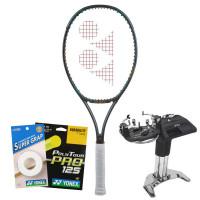 Rakieta tenisowa Yonex VCORE PRO 97 (290g) - matte green + naciąg + usługa serwisowa