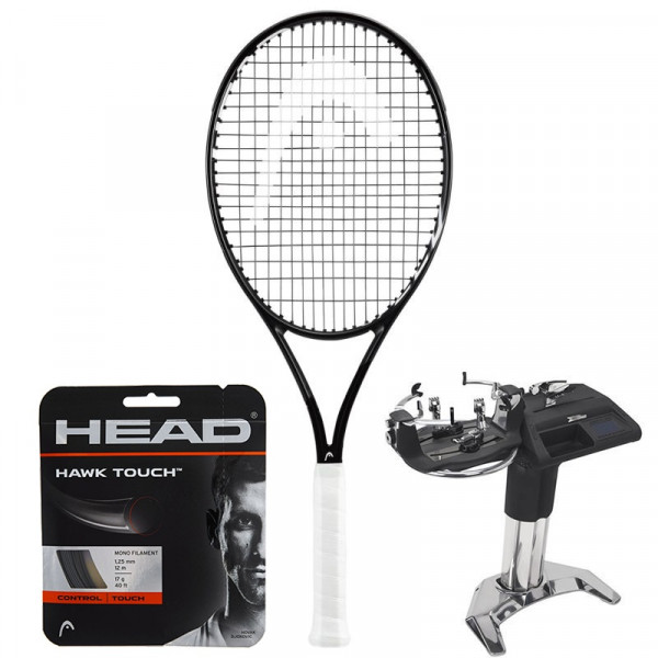 Rakieta tenisowa Head Graphene 360+ Speed Pro Black + naciąg + usługa serwisowa