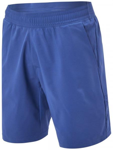 Męskie spodenki tenisowe Adidas Ergo Primeblue 9-in Short M - crew blue/acid yellow