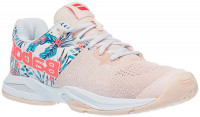Damskie buty tenisowe Babolat Propulse Blast All Court Women - silver peony/flower