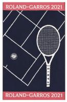Ręcznik tenisowy Roland Garros Joueur 2021 Serv1 - marine (turniejowy)