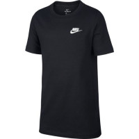 Nike NSW Tee Embedded Futura B - black/white