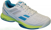 Damskie buty tenisowe Babolat Pulsion All Court W - white/blue