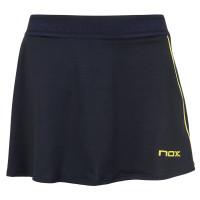 Ženska teniska suknja NOX Falda Mujer Pro - azul/lima