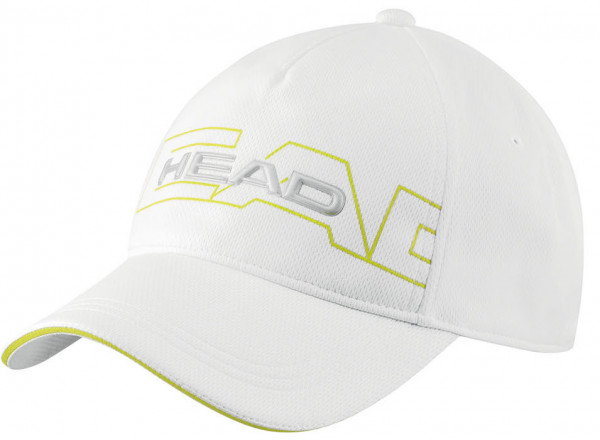 Czapka tenisowa Head Performance Function Cap - white