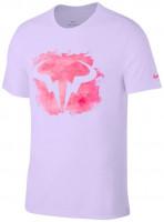 Męski T-Shirt Nike Court M Rafa Tee DB - purple pulse
