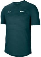 Męski T-Shirt Nike Court M Rafa Challenger Top SS - dark atomic teal/white