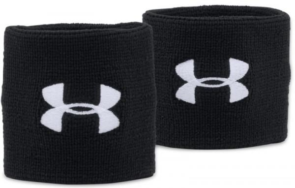 Znojnik za ruku Under Armour Performance Wristbands - black/white