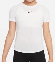 Nike Dri-Fit One SS Top G - white/black
