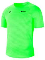 Nike Court M Rafa Challenger Top SS - volt/black