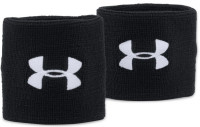 Frotka tenisowa Under Armour Performance Wristbands - black/white