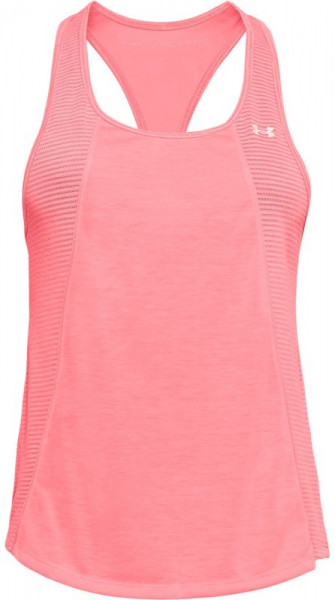 Tenisa tops sievietēm Under Armour Threadborne Fashion Tank - brilliance/brilliance