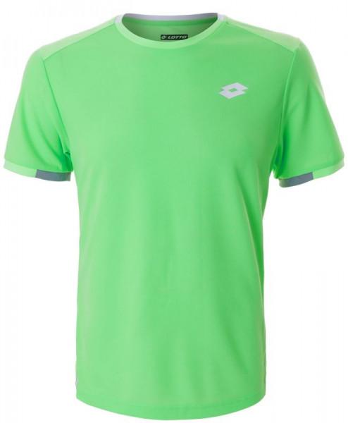 Męski T-Shirt Lotto Squadra Tee - green apple